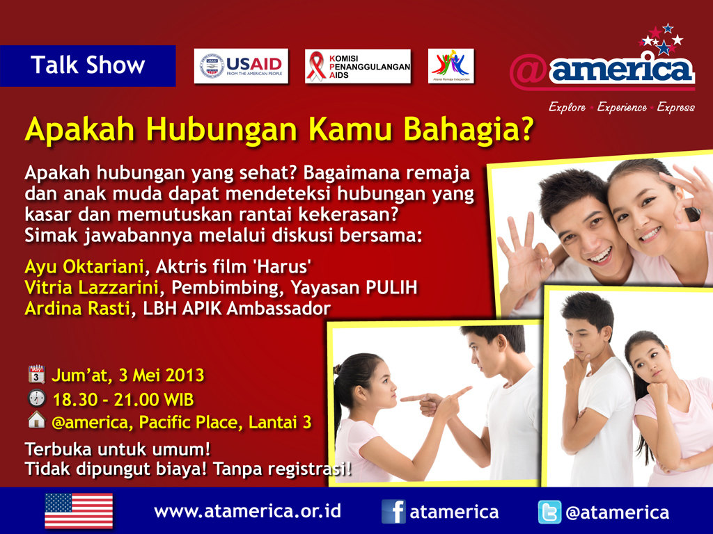 3 May_@america_talk show_AreYouinRelationship&Happy_eposter_indo